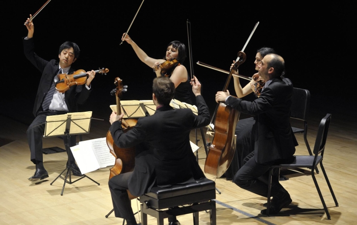 Jupiter Quartet Thrills CMOC Audience