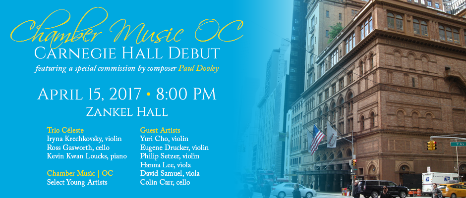 Carnegie-Hall-Debut