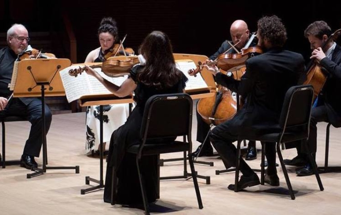 All-star Strings perform Sextets at Soka